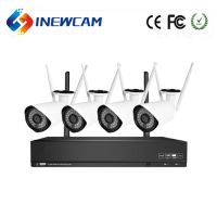 Wholesale 1080P 4CH CCTV Camera Kit Wireless Security Camera System