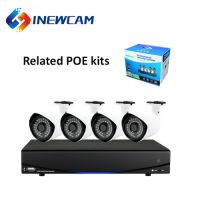 2MP 4CH H.264 Motion Detection POE NVR