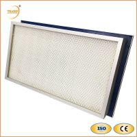 H13 Liquid Tank Gel Seal HEPA Air Filter for Clean-room HVAC System