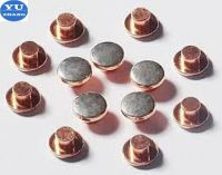bimetal rivet contacts for thr relay
