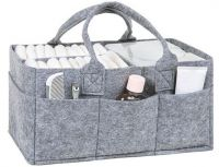 Diaper Caddy organizer felt bag Manufacture