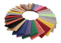 Eco friendly 100% PET Felt Polyester Fiber Acoustic Panel