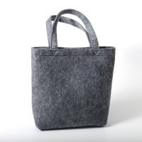 Customized promotional felt tote shopping bag manufacture