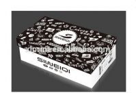 custom made high quality cardboard paper shoes box