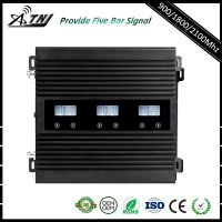 Tri  band repeater 2G+3G+4G High power with LCD intelligent display