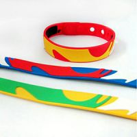 Custom soft silicone sports wrist for club school travel promotional gifts