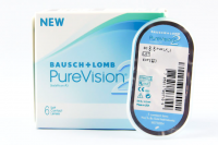 Pure Vision and Soflens Bausch&Lomb contact lenses