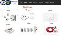 Siewindos Switches SW with DC Power cable 110-220V, 16A
