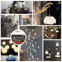 SiewindOS Solar Led Light Panel, Energy Spiral, Lotus Lamp, Desk Table Light
