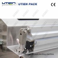Auto cream lotion filling sealing machine in plastic tubes with ultrasonic power