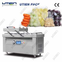 Food vacuum packaging machine for fresh meat, fruit,
