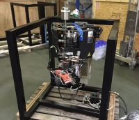 AMAT Centura MXP etch chamber complete incl ESC, Gaspanel, RF gen & refurb turbo