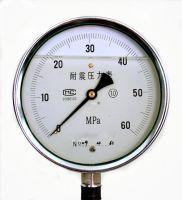 LF-60, LF-100,LF-150 Economic Liquid Filled Pointer Pressure Gauge made in China