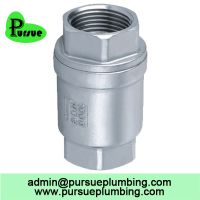 stainless steel 304 316 vertical lift check valve china supplier