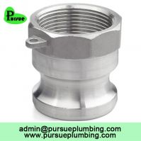 stainless steel 304 316 aluminum Camlock A female adapter
