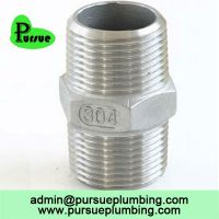 CE ISO certified BSP, NPT SS threaded fitting