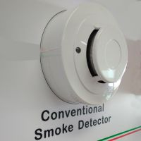 2-wire conventional photoelectric smoke detector sensor fire alarm detector