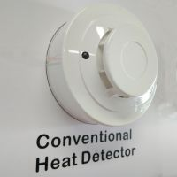 2-wire conventional heat detector temperature sensor alarm for fire alarm system