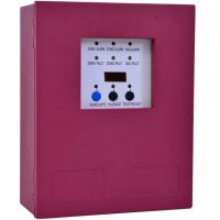 2zone MINI Conventional Fire Alarm Control Panel Alarm Host Slave Panel FACP controller