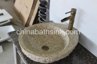 G682 yellow granite bathroom sinks