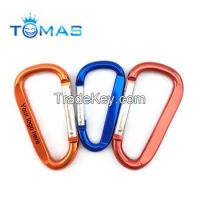 wholesale colorful good promotional snap hook carabiner