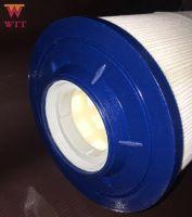 blue large flow  water  filter cartridge