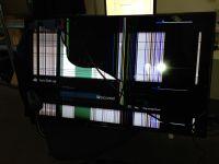 TV's with broken screen