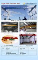 Single Girder Bridge Crane Best Quality Cheap Price