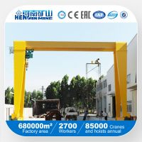 5 ton 15 ton 20 ton Single Girder Gantry Crane