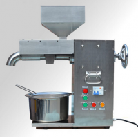 Commercial electric hot and cold oil press machine stainless steel
