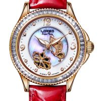 Automatic Mechanical Watch For Women With 5ATM Water Resistance And Luminous Function ,Loreo Brand