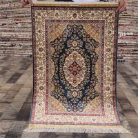 Yilong 2x3ft Persian Area Rugs Handmade Silk Carpet Traditional Oriental Rugs