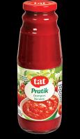 100% Tomato Juice in Glass Bottle