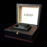Wood Watch Box with PU cover