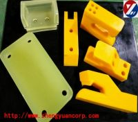 polyurethane cast molded part