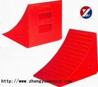 polyurethane wheel chock/wedge/stopper