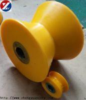 polyurethane coated wheel