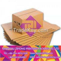 printing color kraft shipping carton shipping box