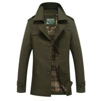 Brand Clothing Men's Jacket Cotton Coats M-5XL Size Multiple Color Outerwear Cheap Wholesale