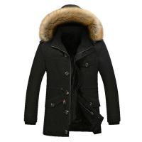 Men's Jacket Warm Cotton Coats M-5XL Size Brand Clothing Cheap Wholesale
