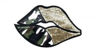Shopatches Wholesale High quality embroidered lips patches for the jacket