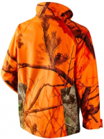Camouflaged waterproof shooting hunting jacket