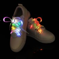 Christmas Gift LED Flashing Shoelaces Glow Shoe Laces for Running/Jogging/Walking/Danceing
