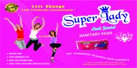 SuperLady Sanitary Napkins