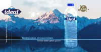 IDEAL WATER  NATURAL SPRING WATER (DRINKING BOTTLED WATER) 8.23 Ph