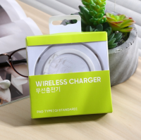 Fast Mini Wireless Charger Pad Quick 9V 2A Charging for Samsung for iphone