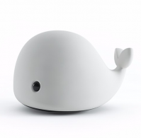 New Design Cartoon Cute Dolphin Mini Hand Touch Control Atmosphere Pat Led Table Lamp 800mAh Battery