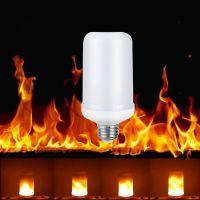 High Quality E27 E26 B22 Led Light Bulb 3W 5W Led Flame Light Lamp