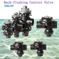 3-way hydraulic drive diaphragm control valves