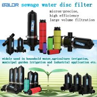 Agriculture irrigation water disc filter
